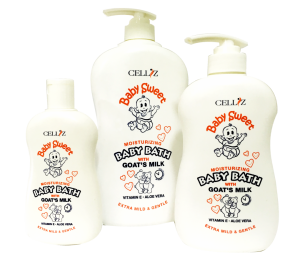 CELLIZ-Baby-Sweet-Baby-Bath-Goat's-Milk-White