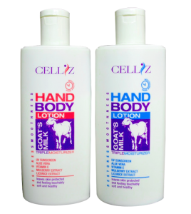 CELLIZ hand and body lotion Goat's milk