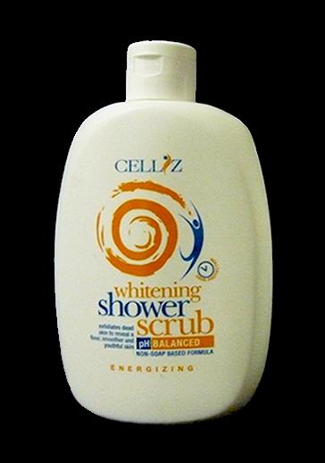 CELLIZ whitening Shower Scrub pH Natural Balanced