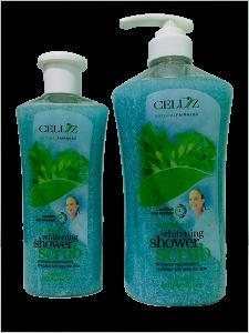 shower scrub seaweed